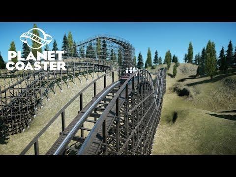 Realistic GCI Wooden Coaster | 4K60FPS Cinematic