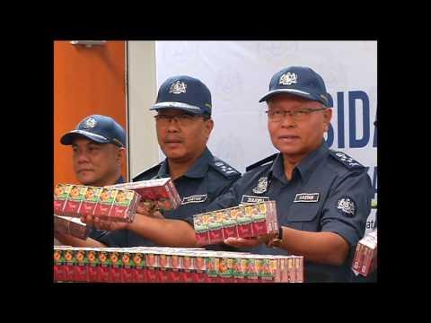 Customs Seizes Contraband Cigarettes Worth RM7 Million
