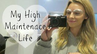 My High Maintenance Life | Eyebrow tattoos, Eyelash Extensions, Hair