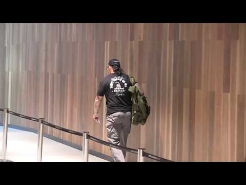'WWE Star 'The UNDERTAKER' heads home to the United States a defeated man'