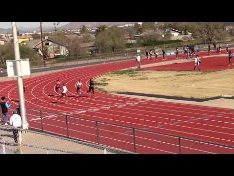 South Mountain High School 1-26-19 Naomi 150m