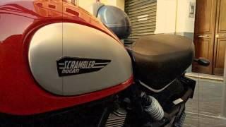Riding Ducati Scrambler & Moto Guzzi V7 through Mallorca