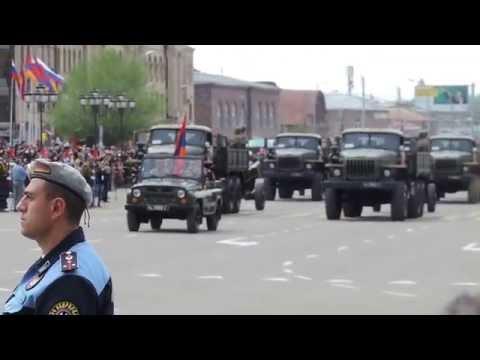 День Победы в Гюмри 9 мая 2014г.