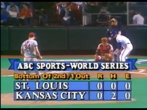 1985 World Series, Game 6: Cardinals At Royals