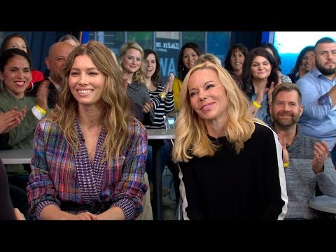 Jessica Biel and Woman Care Global CEO discuss new sex ed campaign on † GMA †
