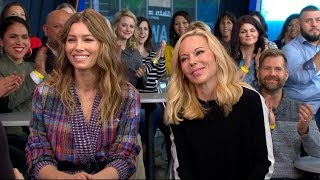 Jessica Biel and Woman Care Global CEO discuss new sex ed campaign on