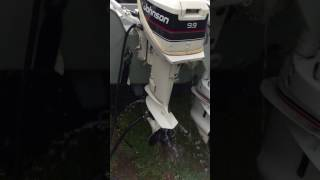 1989 Johnson 9.9 HP Outboard