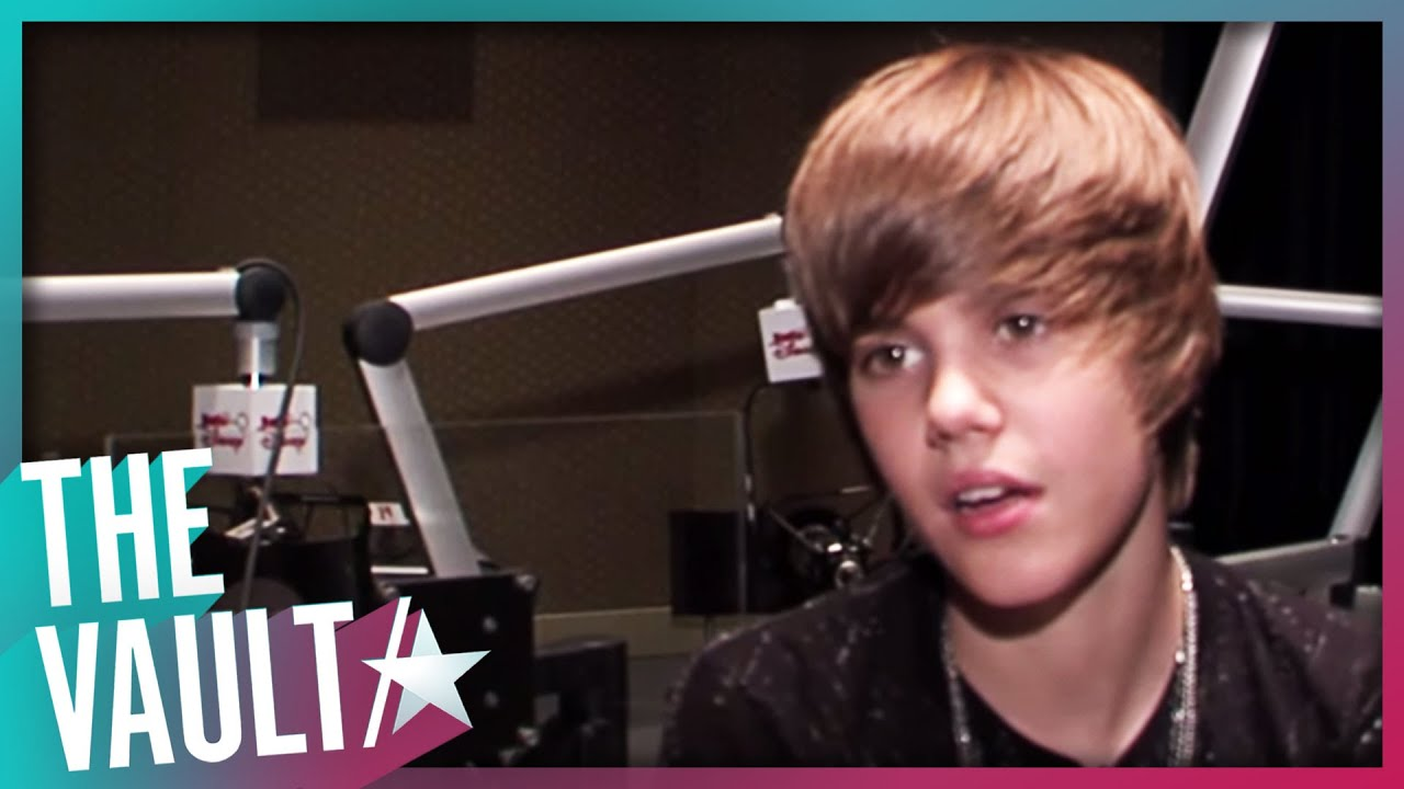 Justin Bieber at 15 Tells Story Of Usher & Scooter Braun Discovering Him I The Vault