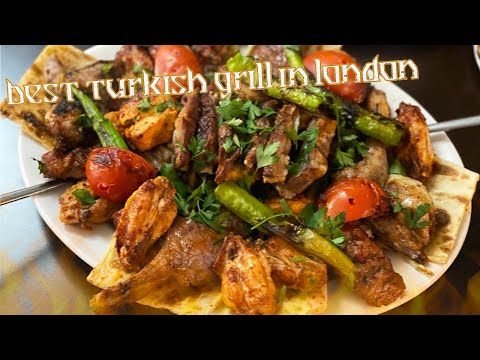 BEST TURKISH MIX GRILL IN LONDON! HASAN MANGAL RESTAURANT IN STOKE NEWINGTON