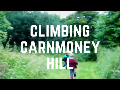 Climbing Carnmoney Hill - County Antrim - Hill Walking - Newtownabbey - History and Wildlife Mixture