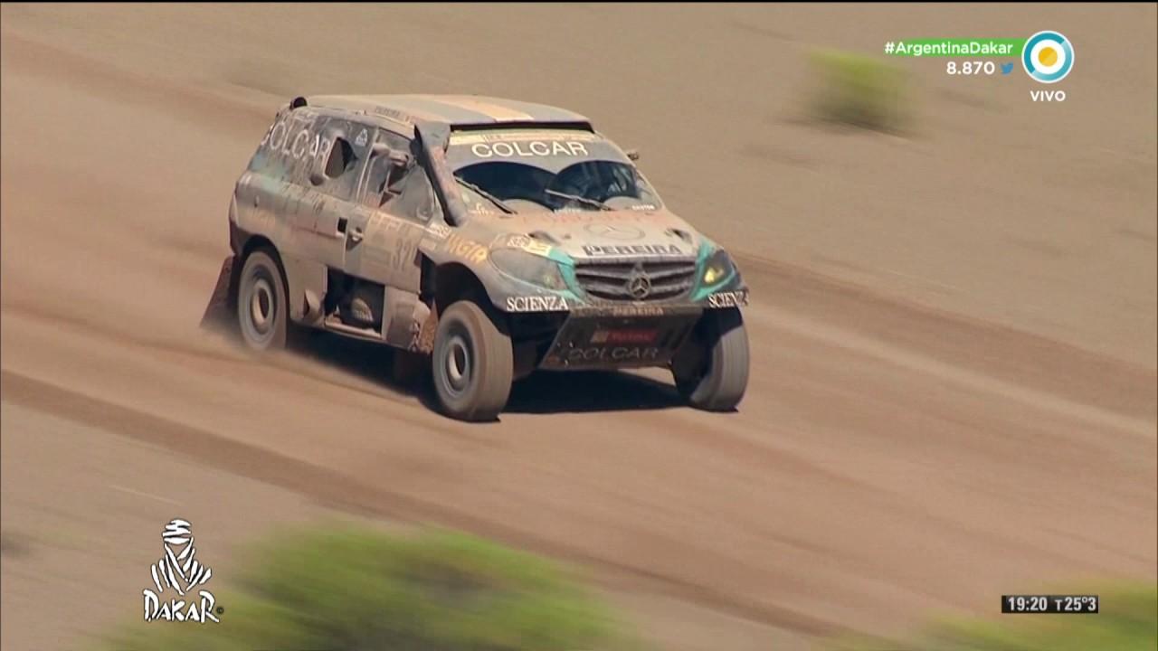 Rally Dakar 2017 Etapa 8 Autos Youtube
