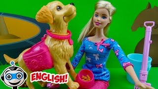Barbie and her Pooping Pup
