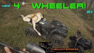 CALL OF THE WILD!!  *New ATV*  THEHUNTER 2017