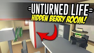 HIDDEN BERRY ROOM - Unturned Life Roleplay #119
