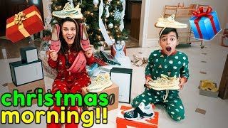 UNWRAPPING PRESENTS ON CHRISTMAS MORNING! **SHOCKING SURPRISE** | The Royalty Family