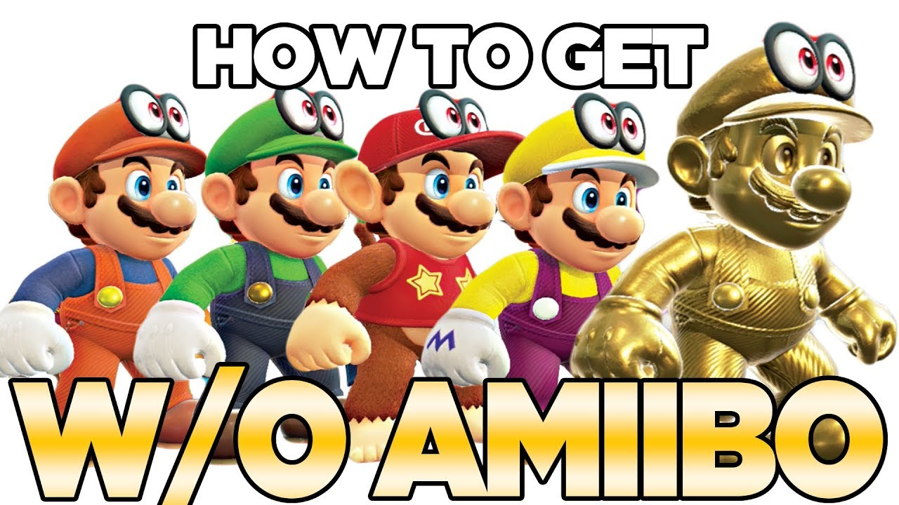 How To Get All Outfits Without Amiibo In Super Mario Odyssey