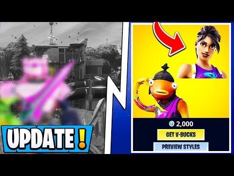 *NEW* Fortnite Update! | Early Event Leaks, S10 Skin Styles, RIP Loot Lake!