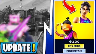 *NEW* Fortnite Update! | Early Event Leaks, S10 Skin Styles, RIP Loot Lake!