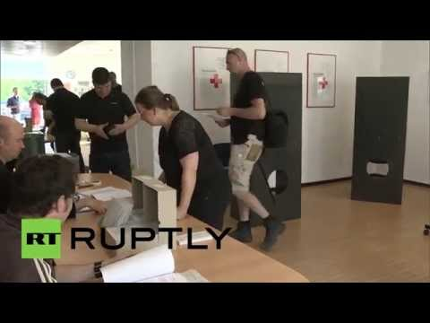 Germany: Berliners cast their votes in EU parliamentary elections