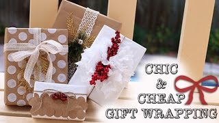 ➳ DIY: Simple & Cheap Gift Wrapping Ideas