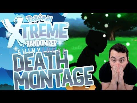 DEATH MONTAGE! Pokemon XTREME Randomizer ShinyLocke!