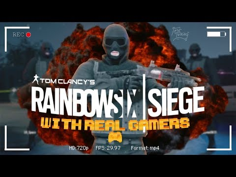If Rainbow Six Siege's Trailer Was Played By Real Gamers