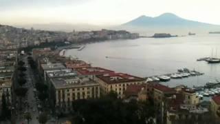 Вид Неаполя со смотровой площадки