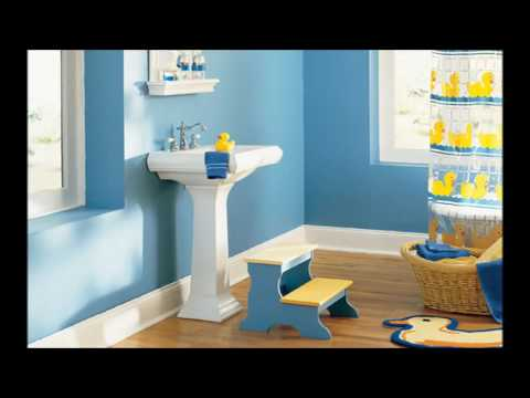 Colorful Children Bathroom Ideas