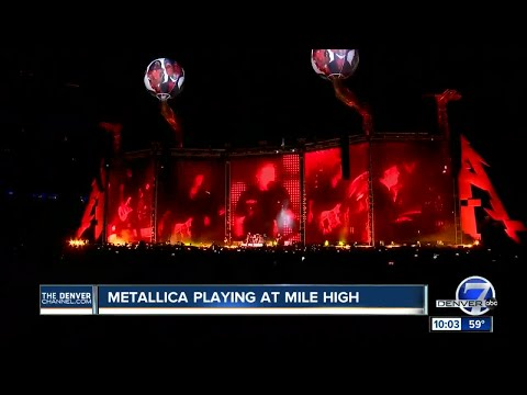 Metallica rocks out Mile High Stadium in Denver