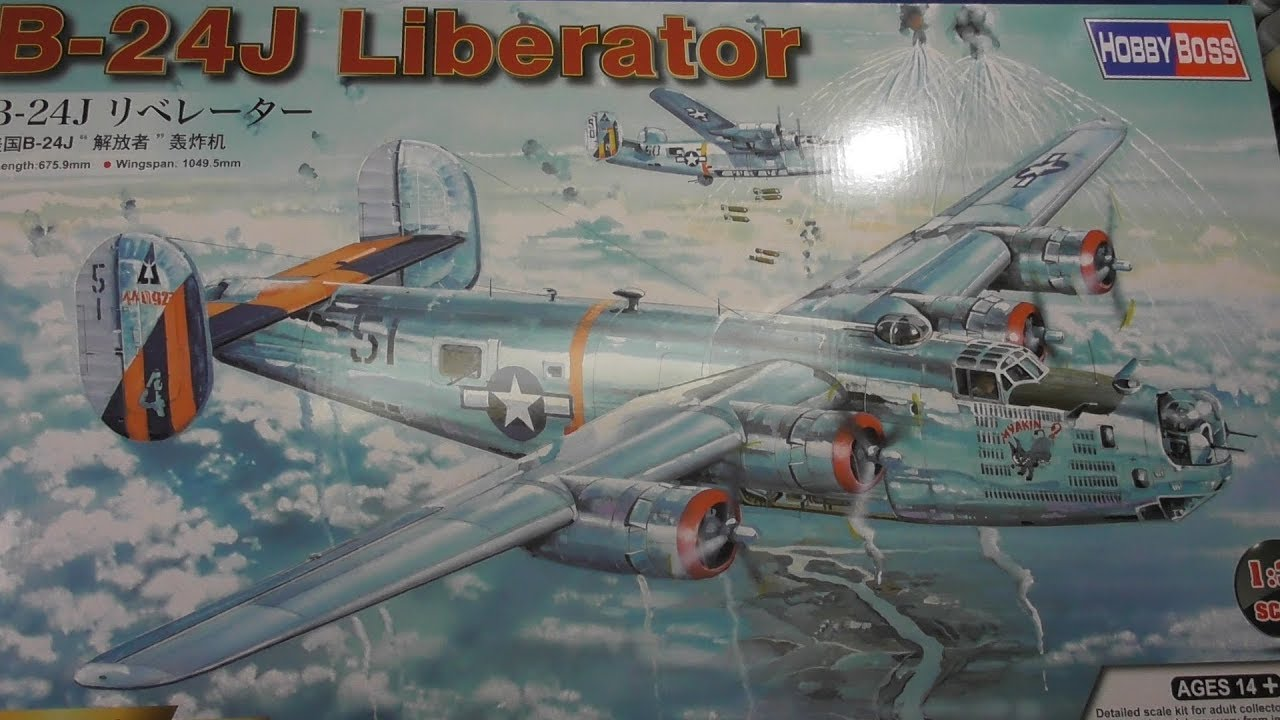Sprue Review Hobby Boss 1/32 B-24J Liberator