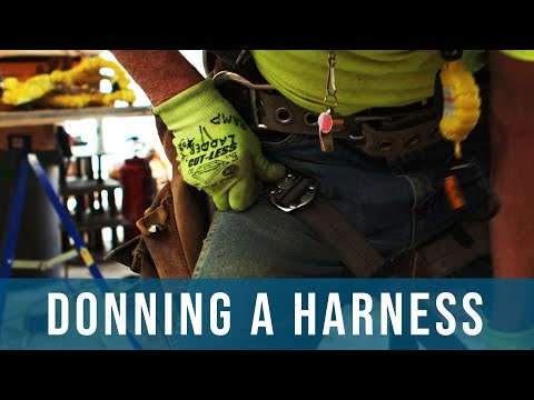 How To Put On A Fall Protection Harness | Safety, Hazards, Training, Oregon OSHA