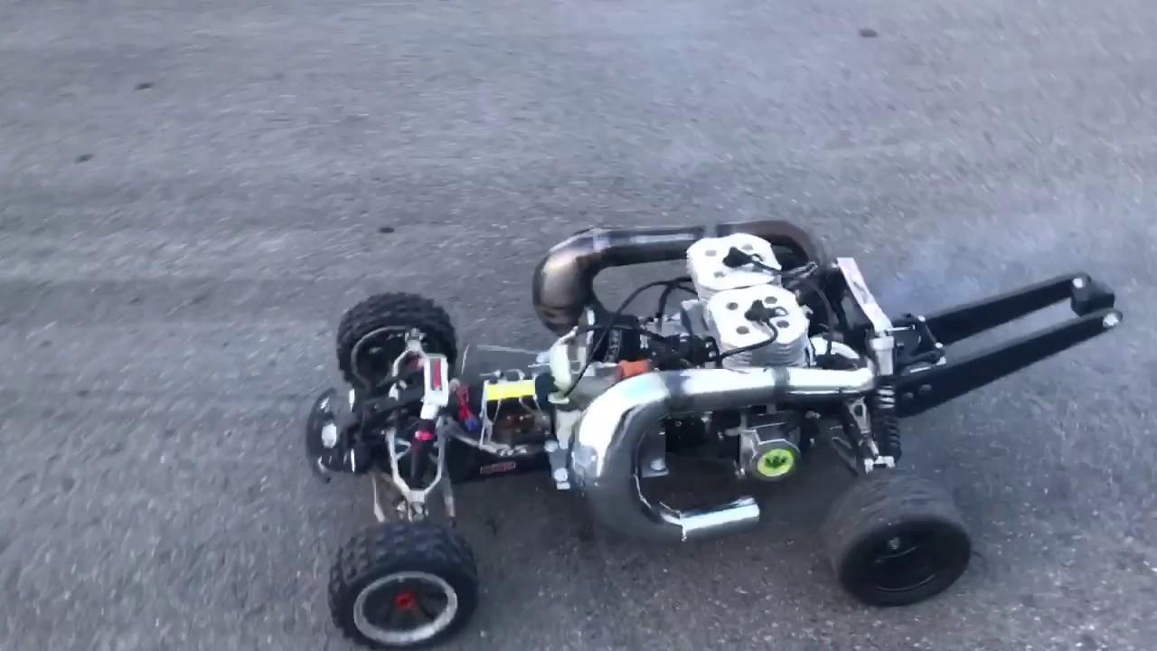 Alx twin 100cc first run - YouTube