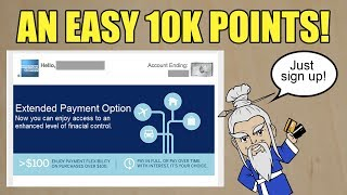 """Get 10k MR Points By Enrolling in Amex """"Extended Payment"""" (Targeted)"""