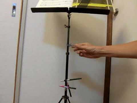 various pencil holders for music stand