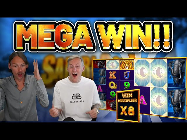 MEGA WIN!!! Safari Gold BIG WIN - Casino Slots from Casinodaddys live stream