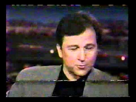 Tom Snyder  Garry Shandling & Bruno Kirby with the Elvis Story