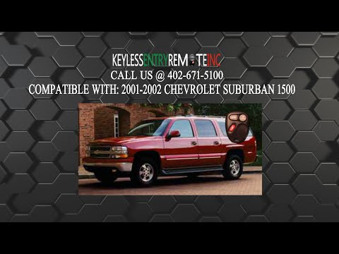 2 Remote for 1995 1996 Chevrolet Suburban Keyless Entry Car Key Fob