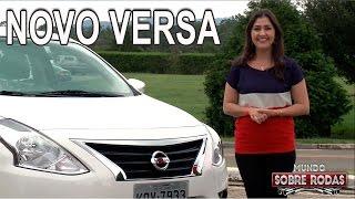Novo Nissan Versa 2016 em Detalhes