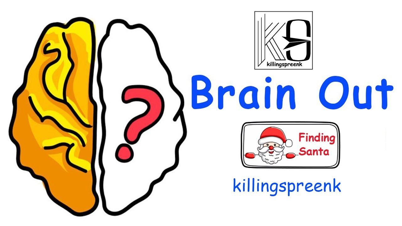 Finding Santa - Brain out walkthrough - YouTube