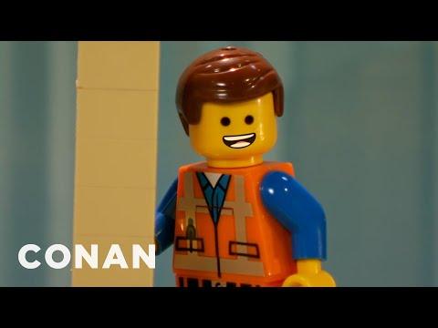 """""""The Lego Movie"""" Producers React To Their Oscar Snub  - CONAN on TBS"""