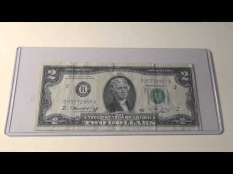 1976 $2 Green Seal Note