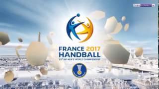 FRANCE BRAZIL Handball 2017 Франция Бразилия Гандбол ЧМ