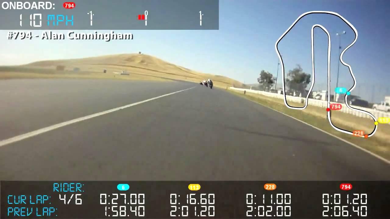 DashWare Video Data Overlay - Cornerspeed for GPX Pro