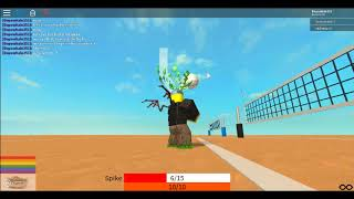 How to play Volleyball 4 0DEMORoblox
