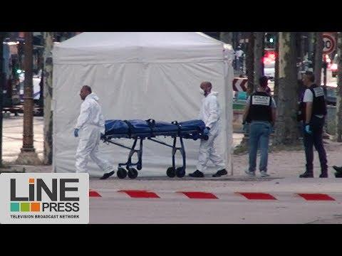 Tentative d'attentat sur les Champs-Elysées / Paris - France 19 juin 2017