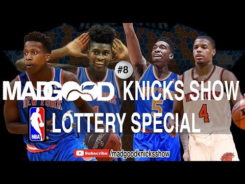Knicks Draft Lottery: No Ball, no Fultz, but Monk, Dennis Smith, F. Ntilikina? - MadGood Knicks Show