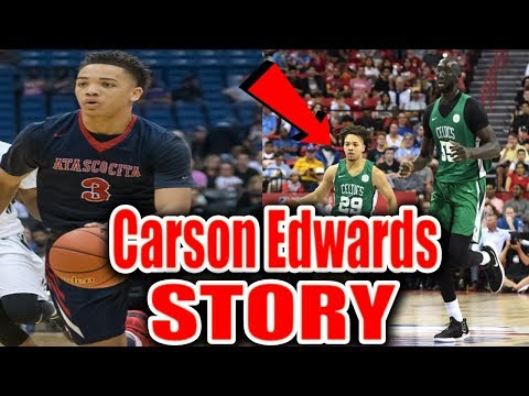 This Coach Almost Made Him Quit... Carsen Edwards SHOCKING Story!!!