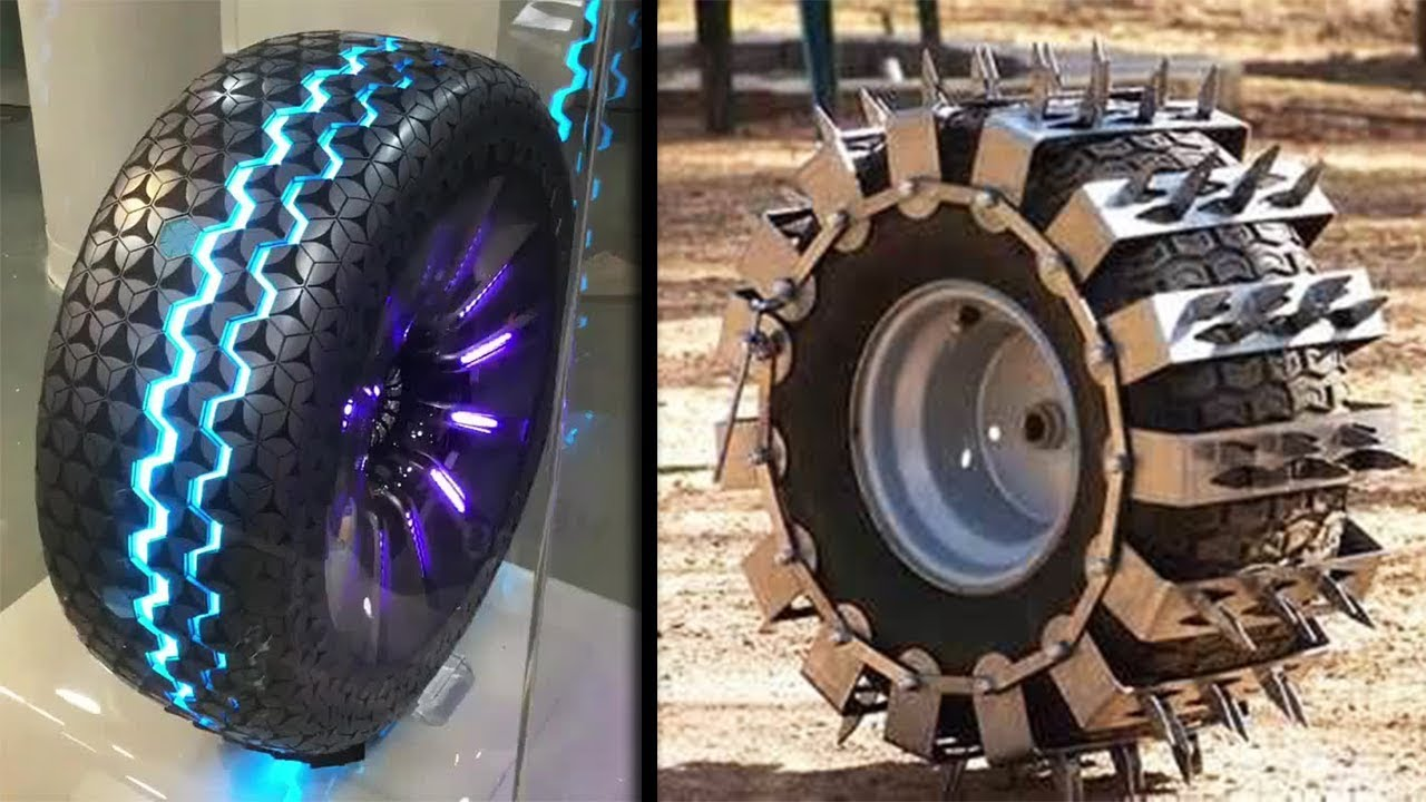 MOST INCREDIBLE TYRES OF ALL TIME