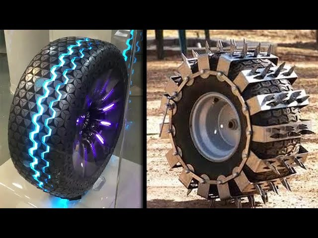 MOST INCREDIBLE TIRES OF ALL TIME