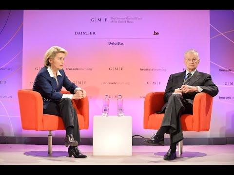 Brussels Forum 2015: Welcome & Conversation with Ursula von der Leyen and Zbigniew Brzezinski